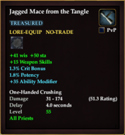 Jagged Mace from the Tangle