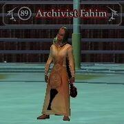 Archivist Fahim