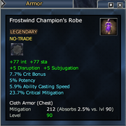Frostwind Champion's Robe