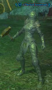 A Thexian lieutenant