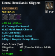 Eternal Broodlands' Slippers