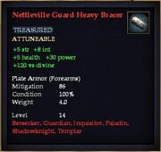 Nettleville Guard Heavy Bracer