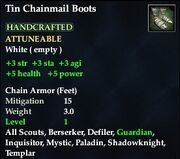 Tin Chainmail Boots