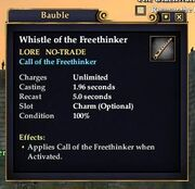 Whistle of the Freethinker