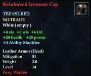 Reinforced Icemane Cap