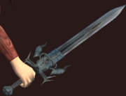 Shissar Longsword (Equipped)