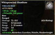 Whisperwind Shortbow