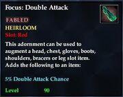 Focus Double Attack
