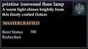 Ironwood Floor Lamp
