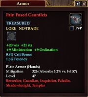 Pain Fused Gauntlets