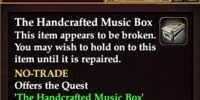The Handcrafted Music Box (Quest Starter)