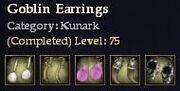 Kunark-Goblin Earrings