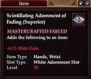 Scintillating Adornment of Fading (Superior)