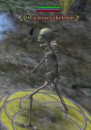 A lesser skeleton