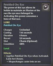 Petrified Orc Eye