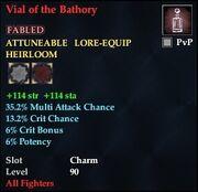 Vial of the Bathory