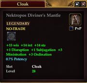 Nektropos Diviner's Mantle