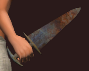 Steelbone Dagger (Equipped)