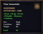 Vitae Immortalis