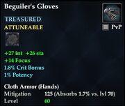 Beguiler's Gloves (Treasured)