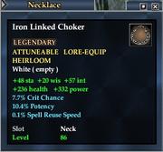 Iron Linked Choker