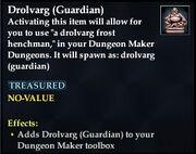 Drolvarg (Guardian)