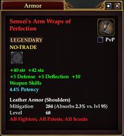 Sensei's Arm Wraps of Perfection