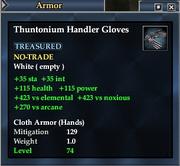 Thuntonium Handler Gloves