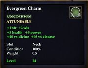 Evergreen Charm