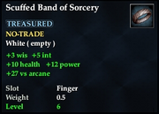 Scuffed Band of Sorcery