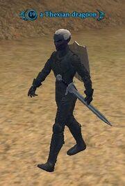 A Thexian dragoon (CL)