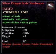 Silverdragonscalevambraces