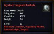Feysteel vanguard barbute