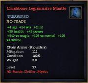 Crushbone Legionnaire Mantle