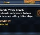 Elaborate Work Bench