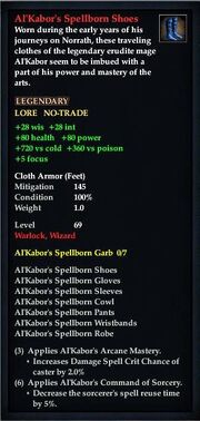 Al'Kabor's Spellborn Shoes
