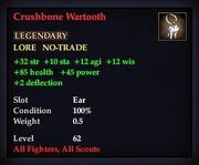 Crushbone Wartooth