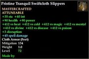 Tranquil Swiftcloth Slippers