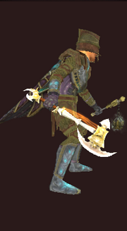 Ayonic Axe (Fabled, Equipped)