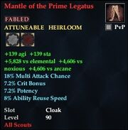 Mantle of the Prime Legatus