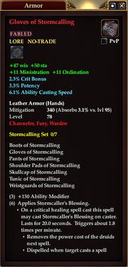 Gloves of Stormcalling