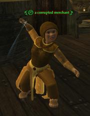 A corrupted merchant