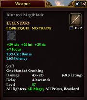 Blunted Magiblade