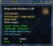 Ring of the Maiden's Call