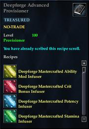 Deepforge Advanced Provisioner