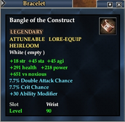Bangle of the Construct