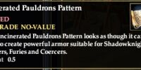 Incinerated Pauldrons Pattern