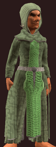 Tranquil Burlap Robe (Equipped)