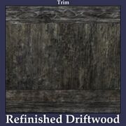 Trim Refinished Driftwood