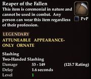 Reaper of the Fallen